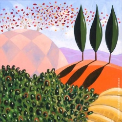 """Giclee Print: """"A Summer Day"""""""