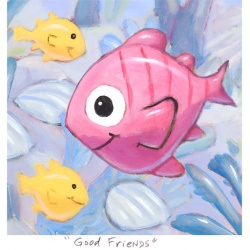 "Small 3D Graphic: ""Good Friends"""