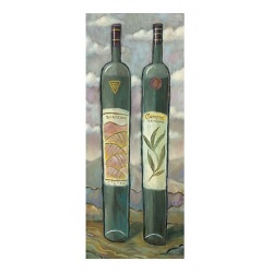 "Tall 3D Graphic: ""Bordeaux & Cabernet Sauvignon"""